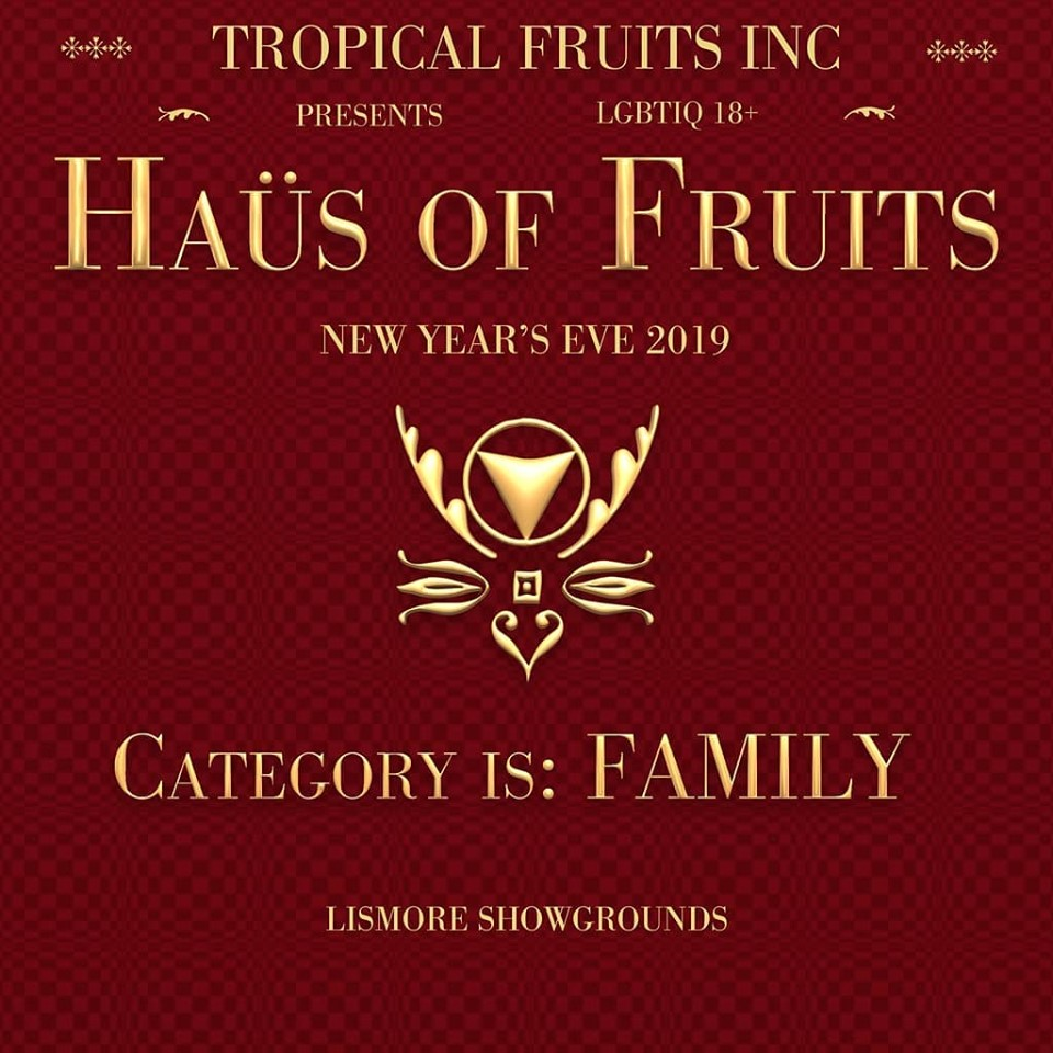 Haus Of Fruits Theme Poster